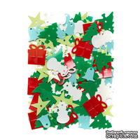 Пайетки Christmas, 20 г, TM dpCraft (Dalprint) - ScrapUA.com