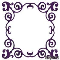 Лезвие Lifestyle Crafts - QuicKutz - Whimsical Frame Die