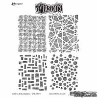 Акриловый штамп Ranger - Dyan Reaveley - Dylusions - Cling Stamps - Graphic Backgrounds