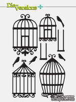 Набор лезвий Die-Version - Whisper - Bird Cages