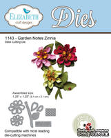 Ножи от Elizabeth Craft Designs - Garden Notes - Zinnia