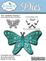 Нож  от   Elizabeth  Craft  Designs  -  Butterfly  Overlay,  3  элемента.