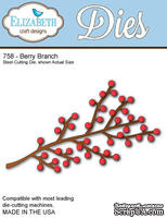 Нож  от   Elizabeth  Craft  Designs  -  New  Berry  Branch,  1  элемент.