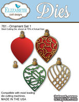 Нож  от   Elizabeth  Craft  Designs  -  NEW  ORNAMENT  SET,  5  элементов.