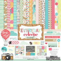 Набор бумаги от Echo Park Paper Co - Everyday Eclectic Collection Kit, 30х30