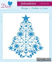 Папка для тиснения от Crafter's Companion - Embossalicious Embossing Folder - O'Christmas Tree15x15 см