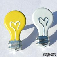 Набор брадсов Eyelet Outlet - Light Bulb Brads, 12 штук