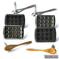 Набор брадсов Eyelet Outlet - Baking Brads, 12 штук