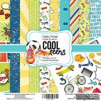 Набор скрапбумаги Cool Teens, 30,5x30,5 см, TM Fabrika Decoru