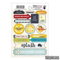 Наклейки Fancy Pants - Down By The Shore Label Stickers
