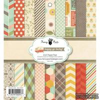 Набор скрапбумаги Fancy Pants - Happy-go-lucky Paper Pad, 15х15 см, 36 листов
