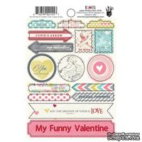 Набор наклеек Fancy Pants - Be.Loved 4x6 Label Stickers