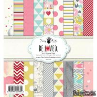 Набор скрапбумаги Fancy Pants - Be.Loved 6x6 Paper Pad, 15х15 см, 36 листов