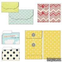 Конверты-пакетики Fancy Pants - Nautical Patterned Envelopes