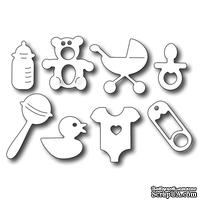 Лезвие Frantic Stamper - Cutting Die - Baby Icons