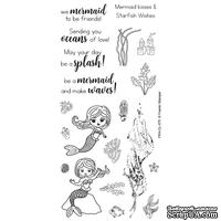 Акриловый штамп Frantic Stamper - Clear Stamp Set - Under the Sea Mermaid Sentiments