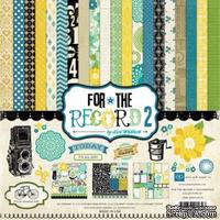 "Набор бумаги от Echo Park ""Documented Collection Kit - For the Record 2"", 30x30, 12 листов"
