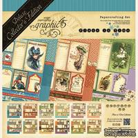 Набор скрапбумаги Graphic 45 - Place in Time, Deluxe Collection Edition, 30х30 см