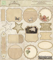 Высечки Melissa Frances - Attic Treasures Die Cuts, 15 шт
