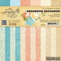 Набор скрапбумаги Graphic 45 - Precious Memories - Patterns and Solids, 15х15 см, двусторонняя, 12 листов