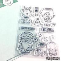 Набор штампов Gerda Steiner - Holiday Friends 4x6 Clear Stamp Set