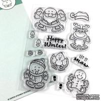 Набор штампов Gerda Steiner - Snow Angel 4x6 Clear Stamp Set