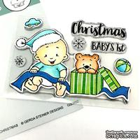 Набор штампов Gerda Steiner - Baby Boy Christmas 3x4 Clear Stamp Set