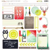 Наклейки от Glitz Design - Finnley Cardstock Stickers - Titles & Accents