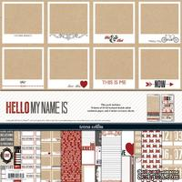 Набор скрапбумаги и декора Teresa Collins - Hello My Name Is - Collection Pack