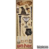 Набор наклеек Creative Imaginations -  Harry Potter Cardstock Stickers - Wizard
