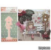 Лезвие Joy! Craft Dies - Floral Flourishes - Tall Bird House