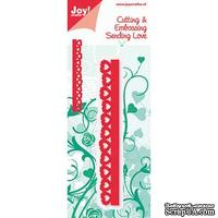 Лезвие Joy! Crafts Cutting & Embossing Die - Small Heart Border