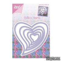 Набор лезвий Joy Crafts - Joy! Craft Dies - Billie's Hearts - ScrapUA.com
