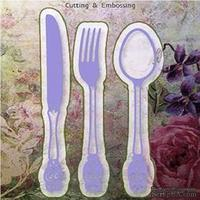 Лезвие Joy Crafts - Cutting and Embossing die - Spoon & Fork & Knife - Ложка, вилка, нож