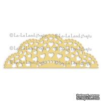Лезвие La-La Land Crafts - Heart Doily Border