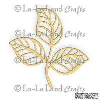 Лезвие La-La Land Crafts - Open Leaf Flourish