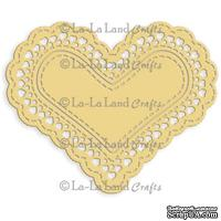Лезвие La-La Land Crafts - Heart Doily