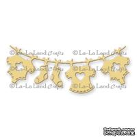 Лезвие La-La Land Crafts - Baby Clothesline Banner