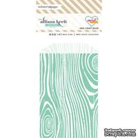 Конвертик Webster's Pages - Bulk Bags Wood: Teal, размер 10х7 см, 1 шт.