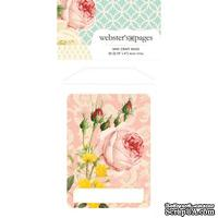 Конвертик Webster's Pages - Bulk Mini Bag Floral, размер 10х7 см, 1 шт.