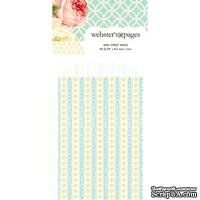 Конвертик Webster's Pages - Bulk Mini Bag Hearts: Yellow, размер 10х7 см, 1 шт.