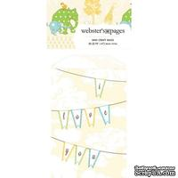 Конвертик Webster's Pages - Bulk Mini Bag Flags, размер 10х7 см, 1 шт.