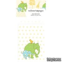 Конвертик Webster's Pages - Bulk Mini Bag Large Elephants, размер 10х7 см, 1 шт.