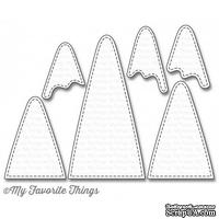 Лезвие My Favorite Things - Die-namics Snow-Capped Mountains, 6 шт.