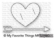 Лезвие My Favorite Things - Die-namics Straight from the Heart - ScrapUA.com