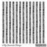 Резиновый штамп My Favorite Things - BG Distressed Stripes Background