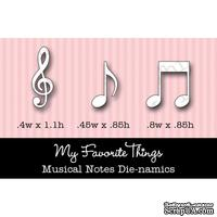 Набор лезвий My Favorite Things - Die-namics Musical Notes