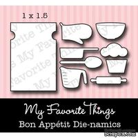 Набор лезвий My Favorite Things - Die-namics Bon App?tit DIE ONLY