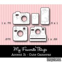 Левие My Favorite Things - Die-namics LLD Accent It - Cute Cameras (MFT-0251)