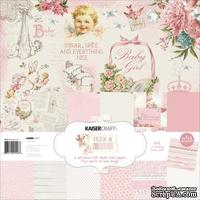 Набор бумаги от Kaisercraft - Peek-A-Boo Girl Paper Pack, 30x30 см